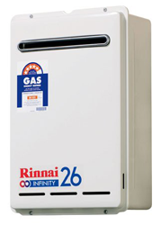 Rinnai Infinity B26 - Gas Continuous Flow Hot Water System